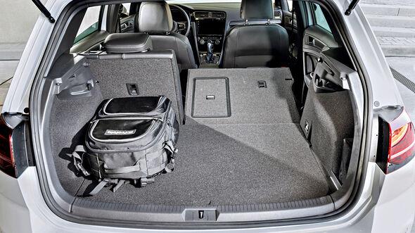VW Golf GTE Kofferraum