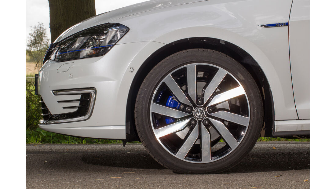 VW Golf GTE, Rad, Felge