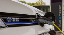 VW Golf GTE, Strombuchse, Tanken