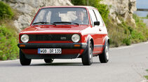 VW Golf GTI, 1976, Fronztbild