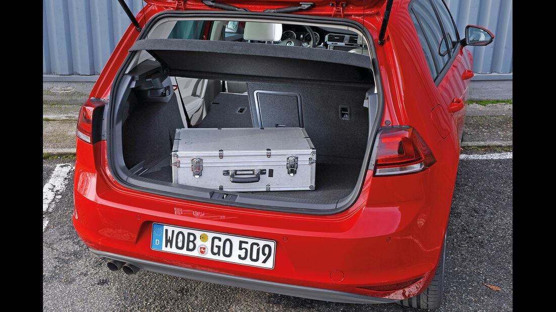 VW Golf GTI 2.0 TDI, Kofferraum