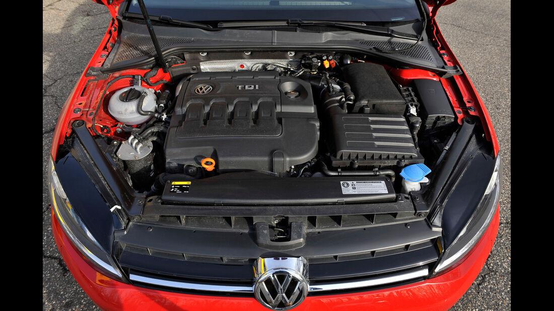 VW Golf GTI 2.0 TDI, Motor