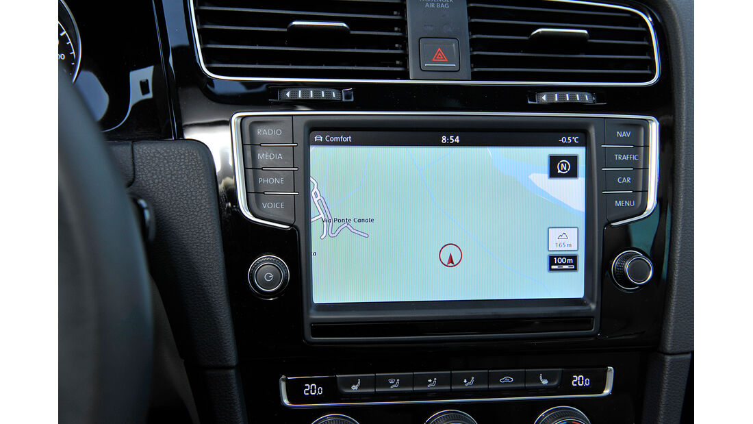 VW Golf GTI 2.0 TDI, Navi, Monitor