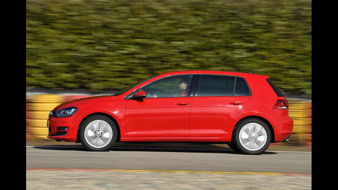 VW Golf GTI 2.0 TDI, Seitenansicht