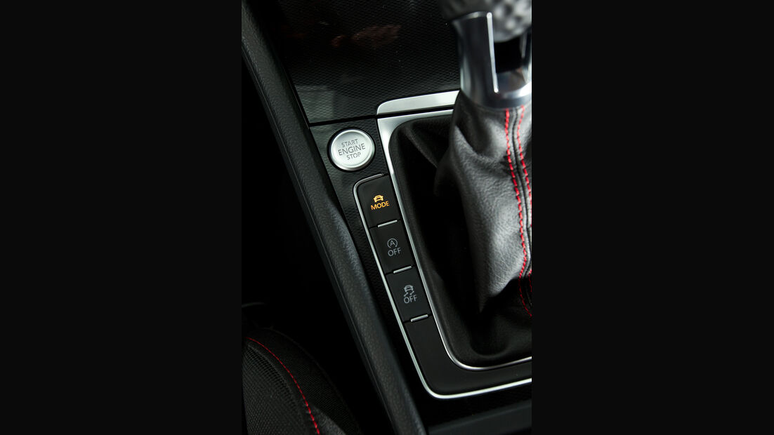 VW Golf GTI, Bedienelemente