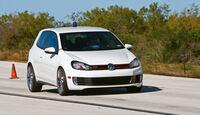VW Golf GTI, Bremstest