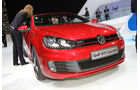 VW Golf GTI Cabrio Autosalon Genf 2012, Messe