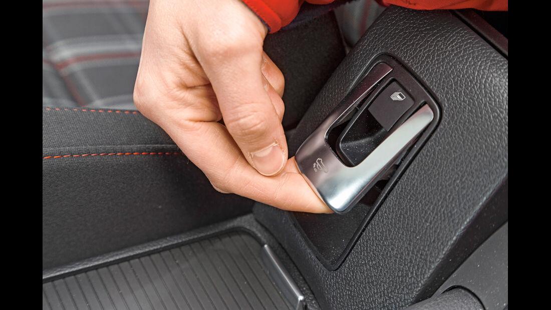 VW Golf GTI Cabrio, Bedienelement