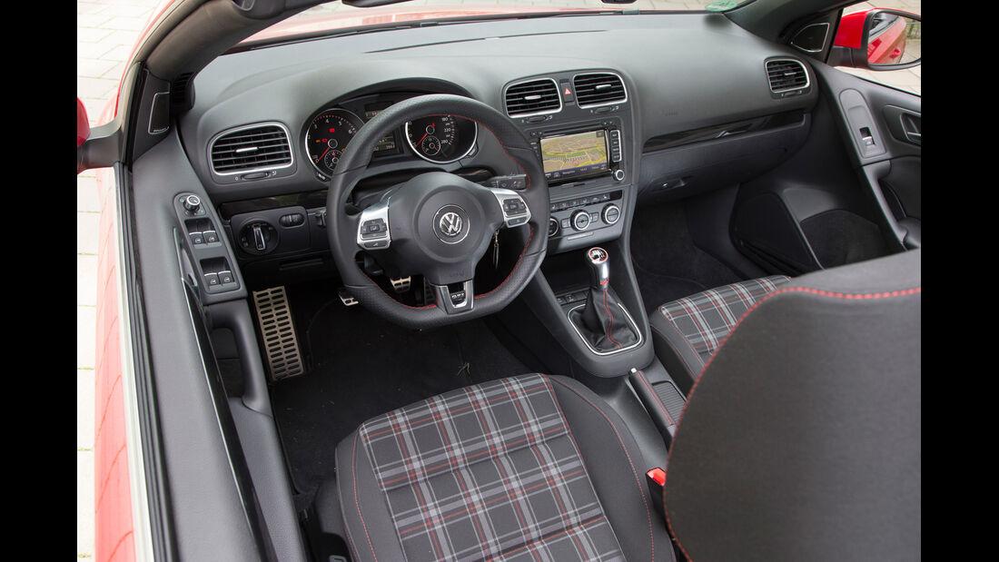 VW Golf GTI Cabrio, Cockpit, Fahrersitz