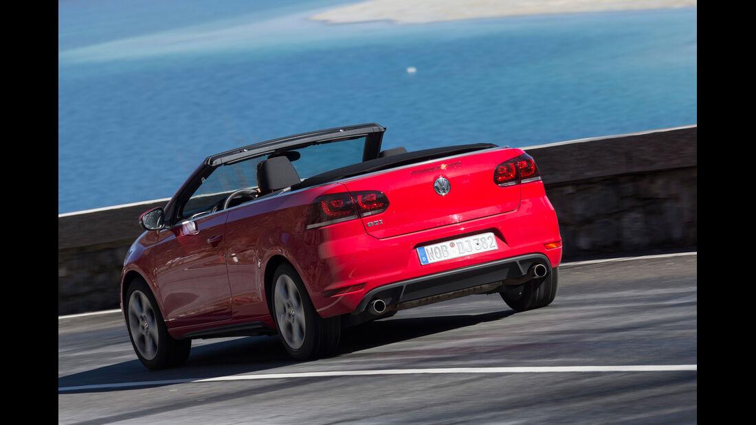 VW Golf GTI Cabrio,  Heckansicht