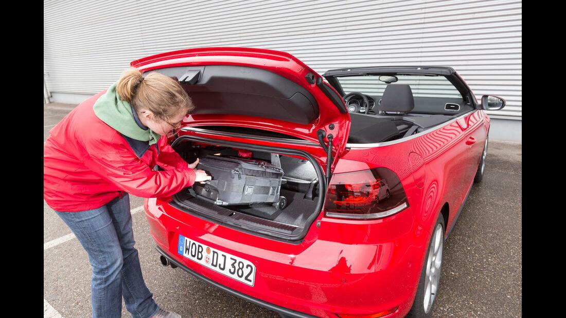 VW Golf GTI Cabrio,  Kofferraum