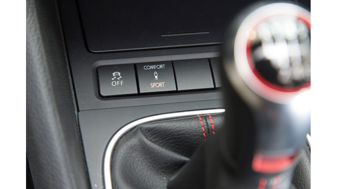 VW Golf GTI Cabrio, Schalthebel, Gangschalter
