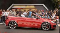 VW Golf GTI Cabrio Studie Wörthersee