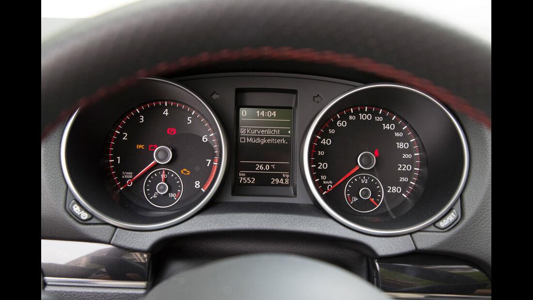 VW Golf GTI Cabrio, Tacho, Rundinstrumente