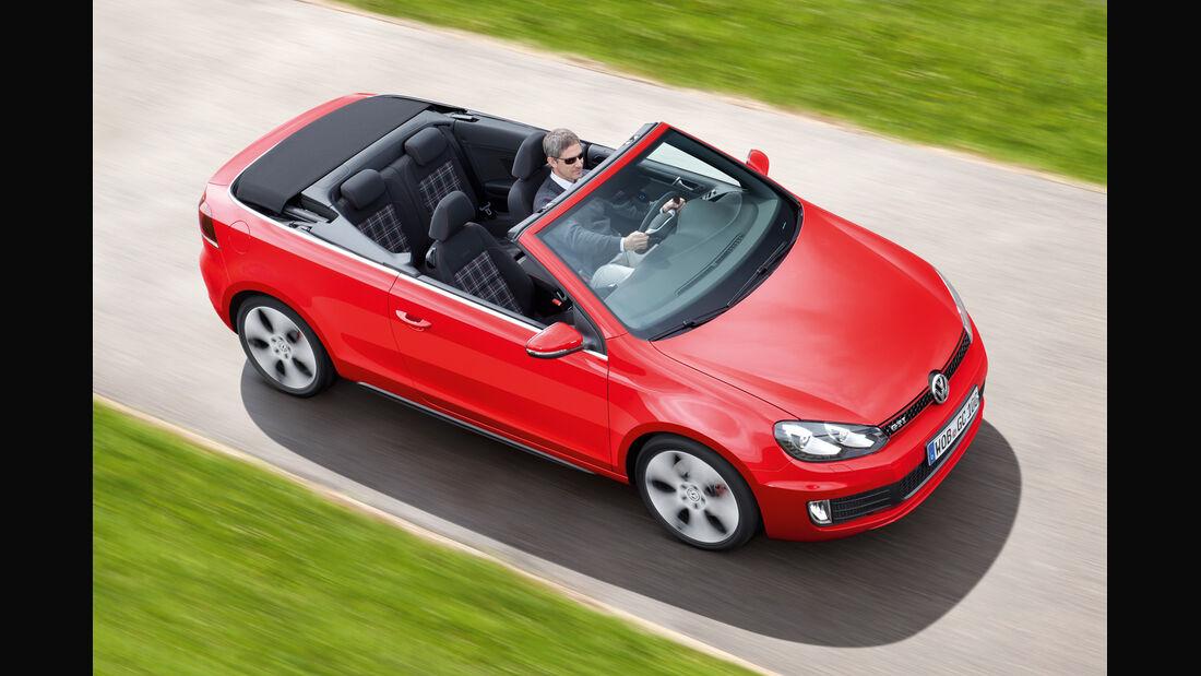 VW Golf GTI Cabriolet, Draufsicht