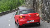 VW Golf GTI Cabriolet, Heck