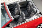 VW Golf GTI Cabriolet, Sitze, Innenraum