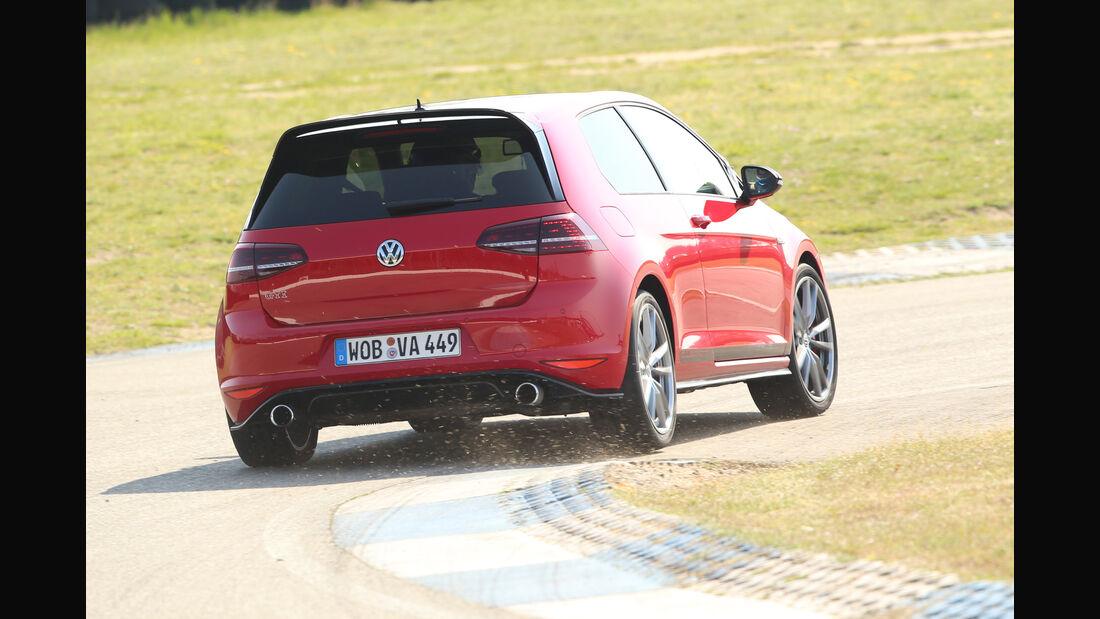 VW Golf GTI Clubsport & Clubsport S, Supertest, Impressionen