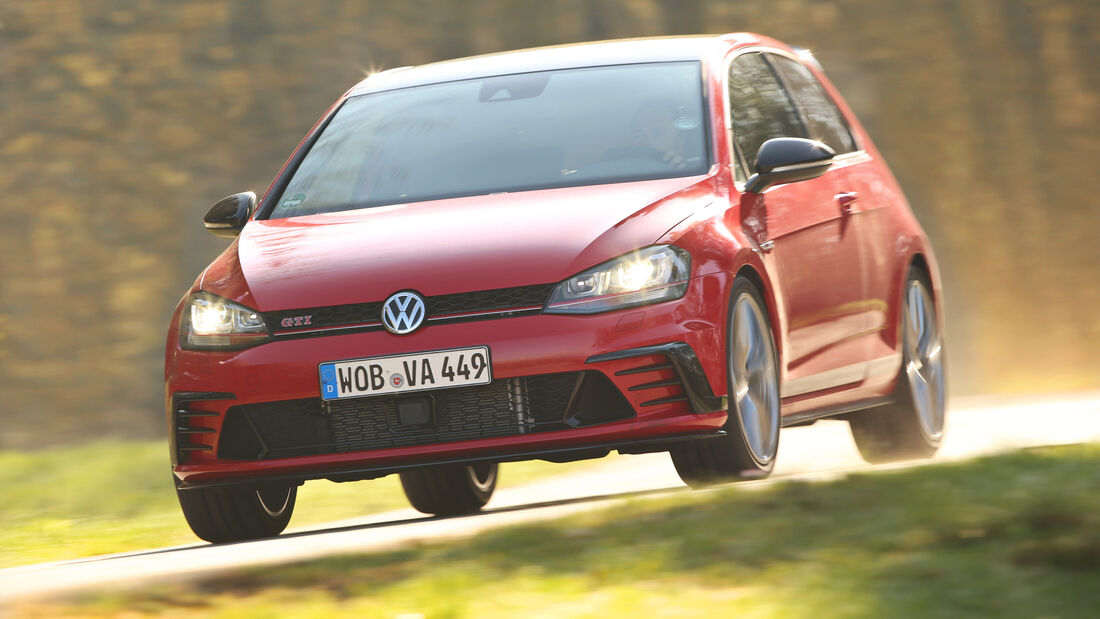 VW Golf GTI Clubsport, Frontansicht