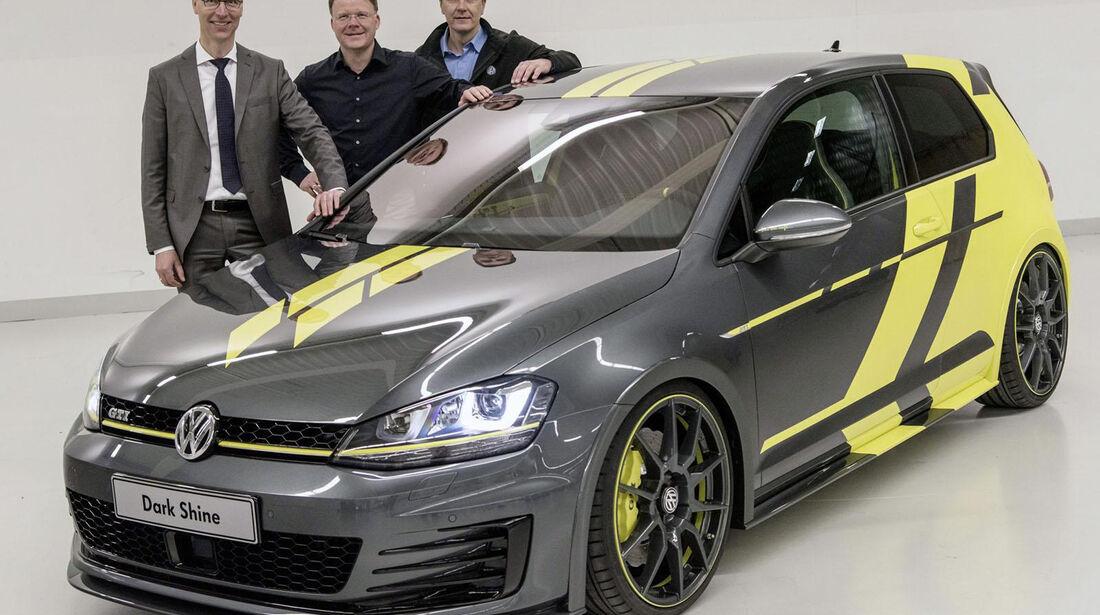 VW Golf GTI Dark Shine