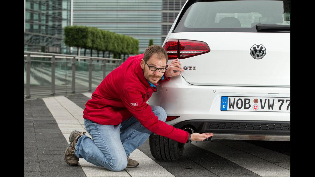 VW Golf GTI, Diffusor