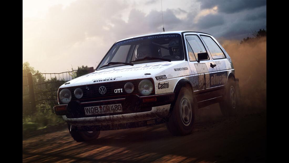 VW Golf GTI - Dirt Rally 2.0 - Rennspiel - Codemasters
