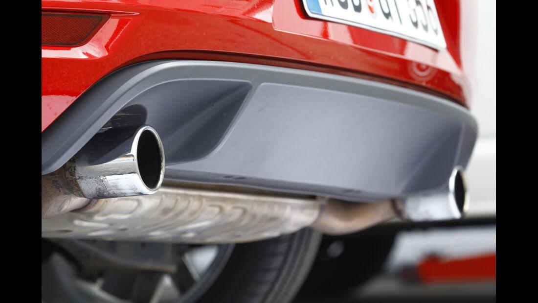 VW Golf GTI Edition 35, Auspuff