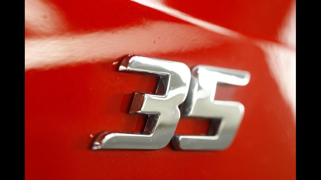 VW Golf GTI Edition 35, Emblem