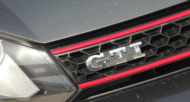 VW Golf GTI Edition 35, GTI, Schriftzug