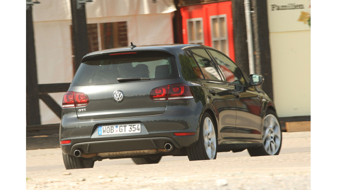 VW Golf GTI Edition 35, Heck