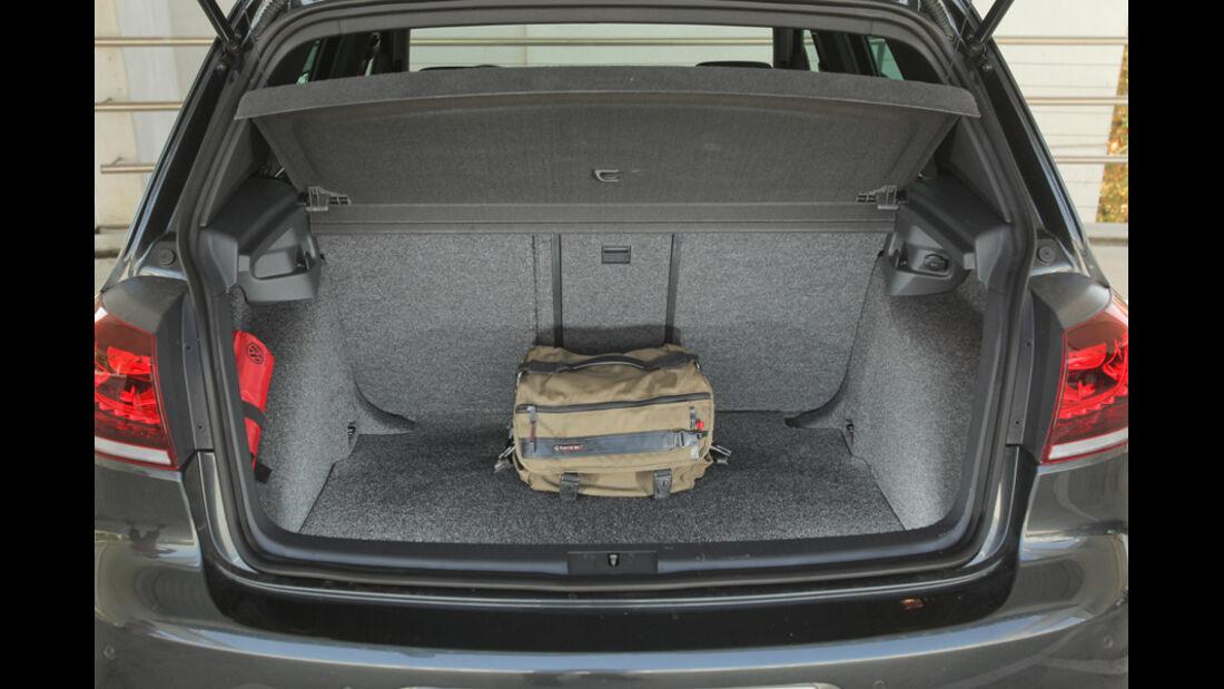 VW Golf GTI Edition 35, Kofferraum