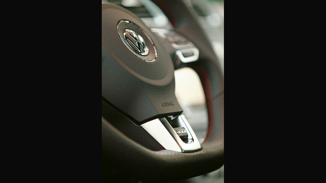 VW Golf GTI Edition 35, Lenkrad