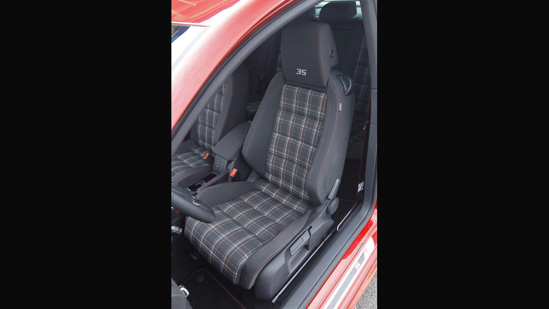 VW Golf GTI Edition 35, Sitze
