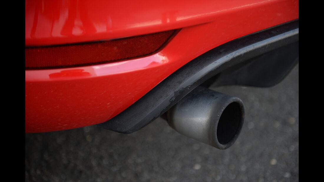 VW Golf GTI, Endrohr