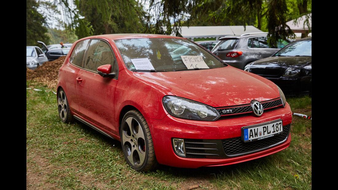 VW Golf GTI - Fan-Autos - 24h-Rennen Nürburgring 2015 - 14.5.2015