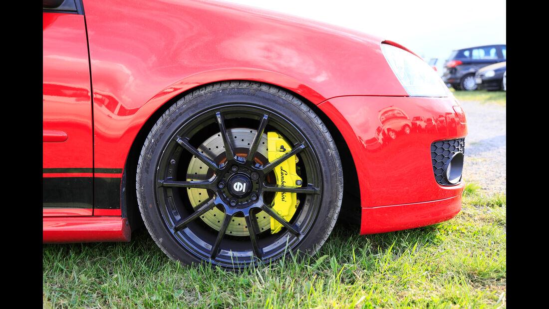VW Golf GTI - Fan-Autos - 24h-Rennen Nürburgring 2018 - Nordschleife