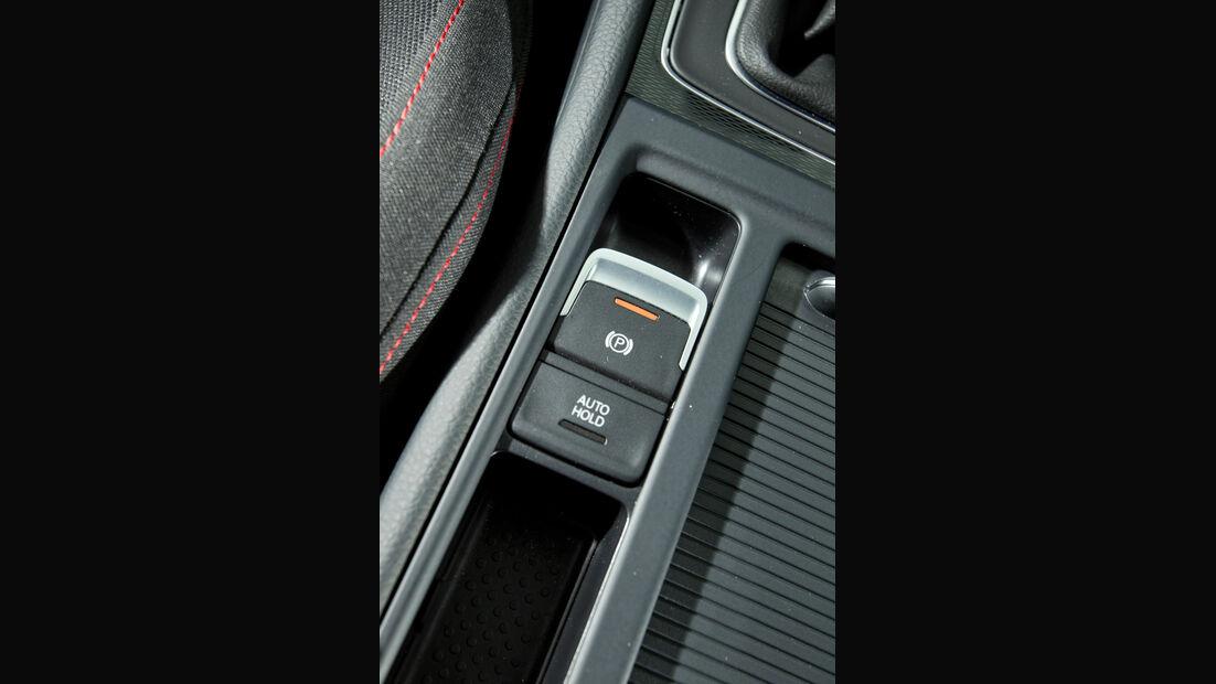 VW Golf GTI, Feststellbremse