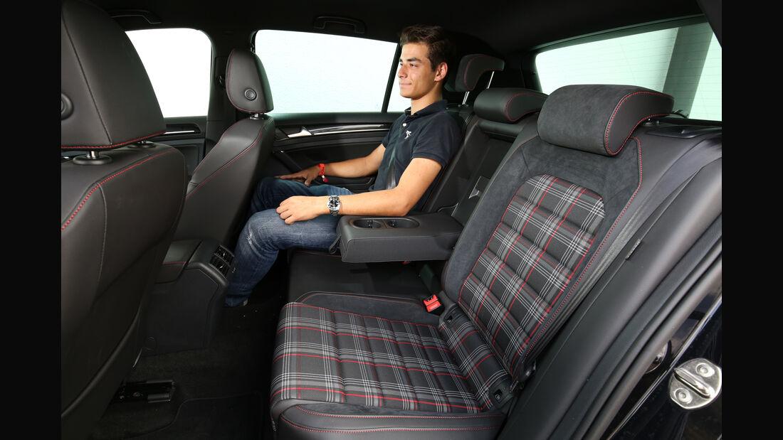 VW Golf GTI, Fondsitz