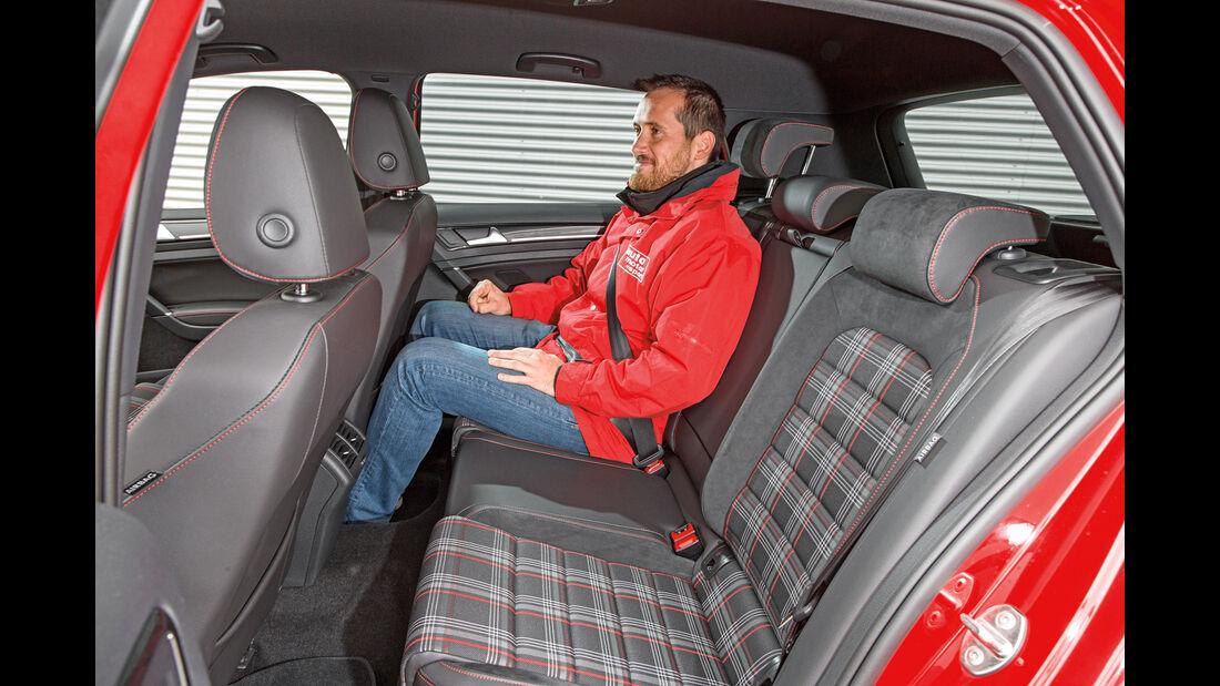 VW Golf GTI, Fondsitze