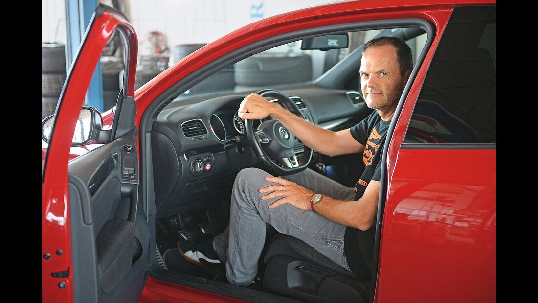 VW Golf GTI, Frank Mühling