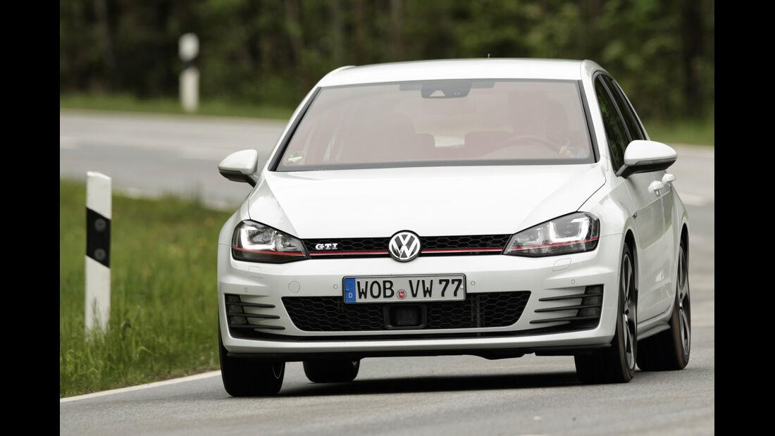 VW Golf GTI, Frontansicht