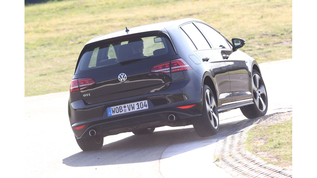 VW Golf GTI, Heckansicht