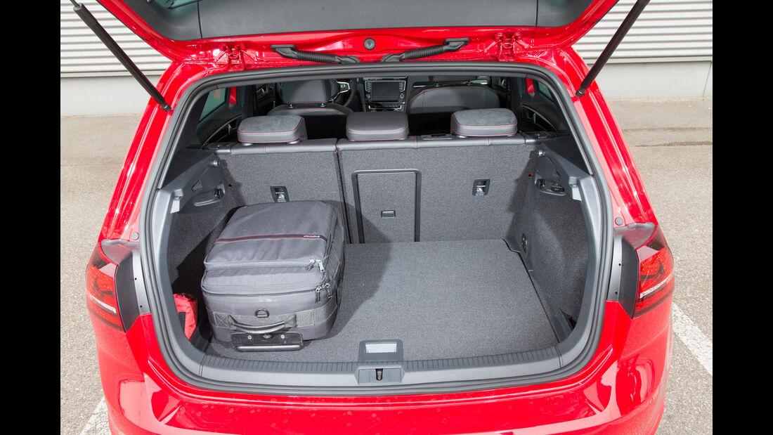 VW Golf GTI, Hecklappe