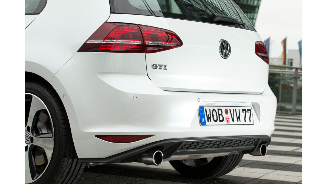 VW Golf GTI, Heckleuchte