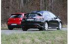 VW Golf GTI, Honda Civic Type R