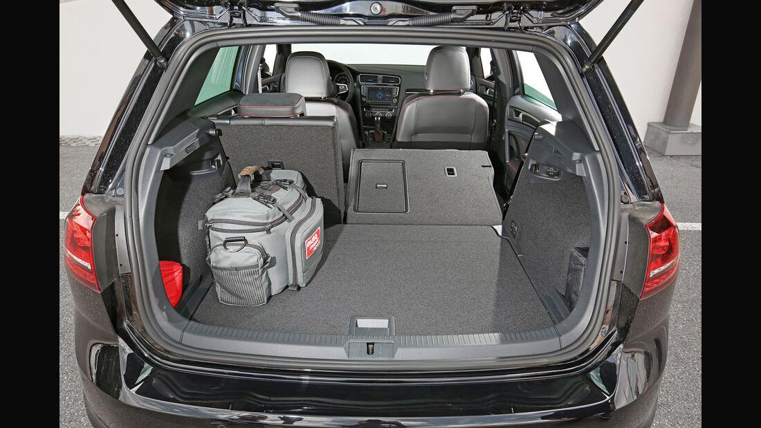 VW Golf GTI, Kofferraum