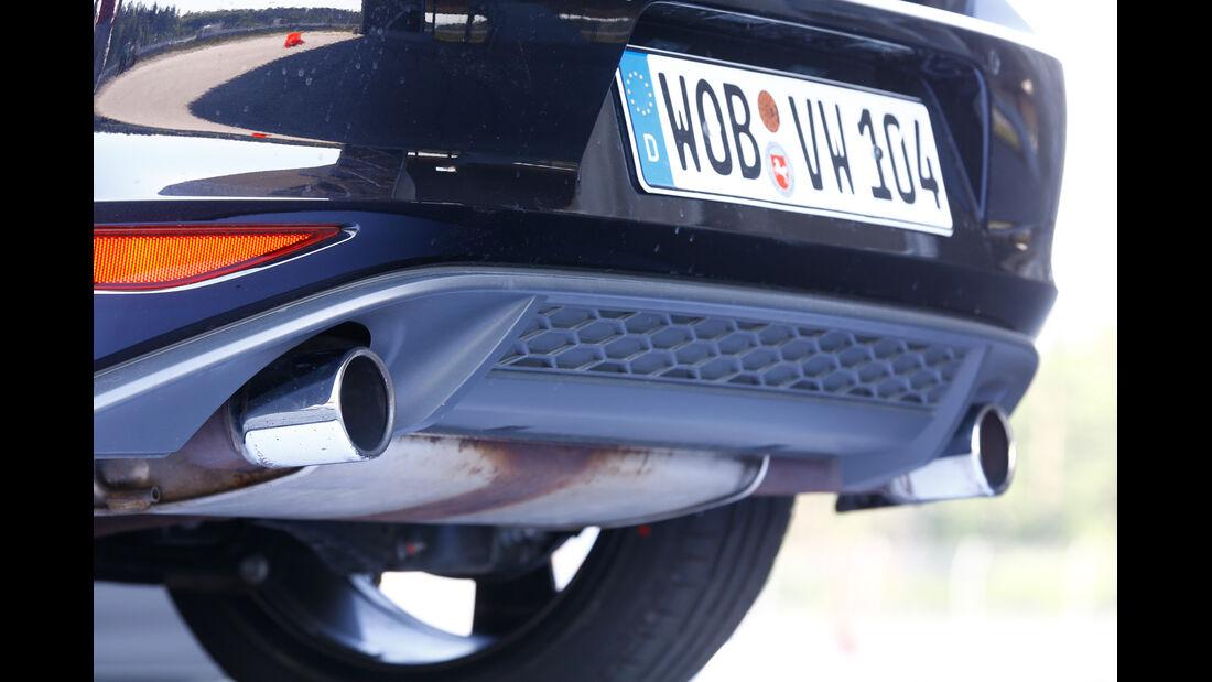 VW Golf GTI Performance, Endrohr, Auspuff
