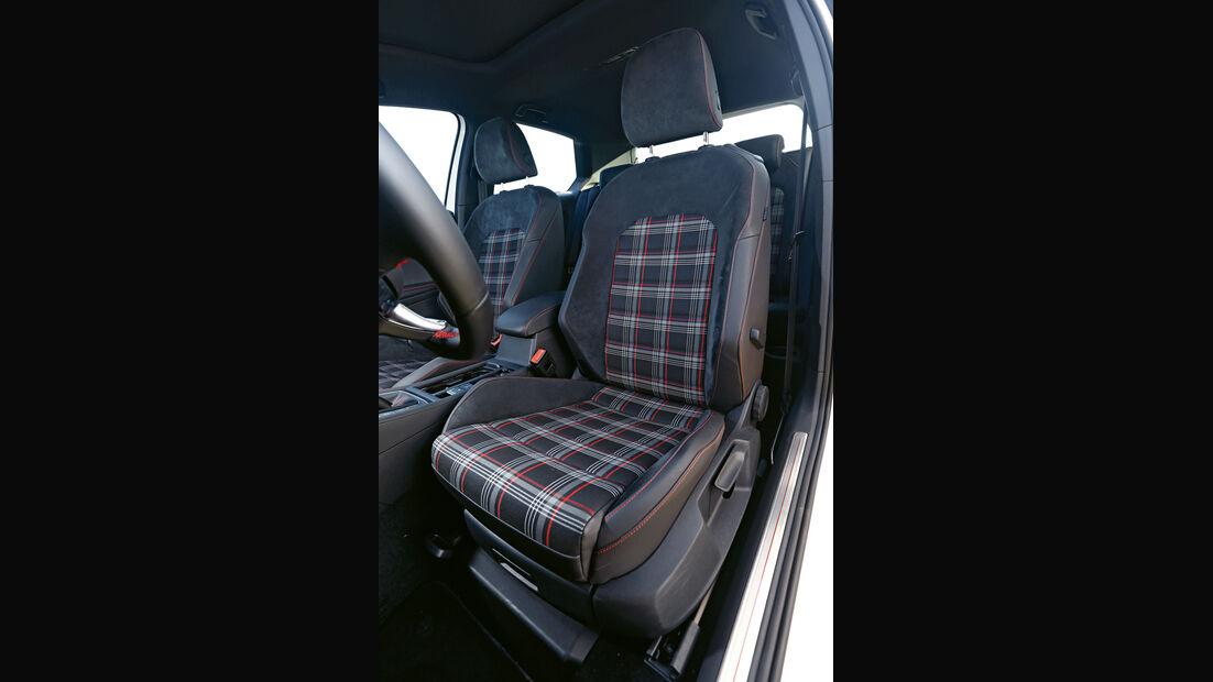 VW Golf GTI Performance, Fahrersitz