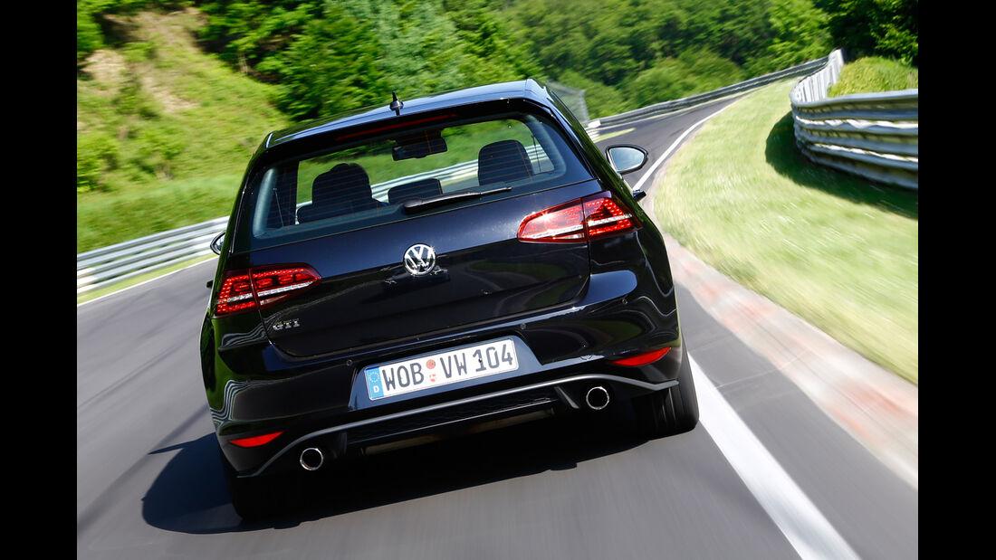 VW Golf GTI Performance, Heckansicht