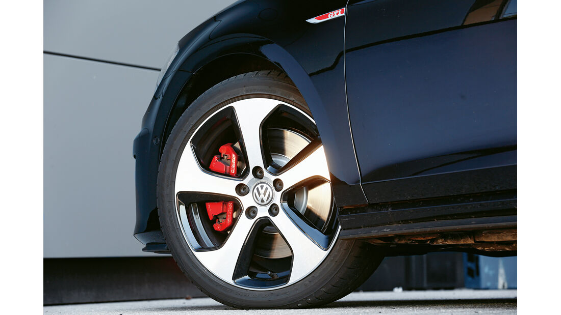 VW Golf GTI Performance, Rad, Felge, Bremse